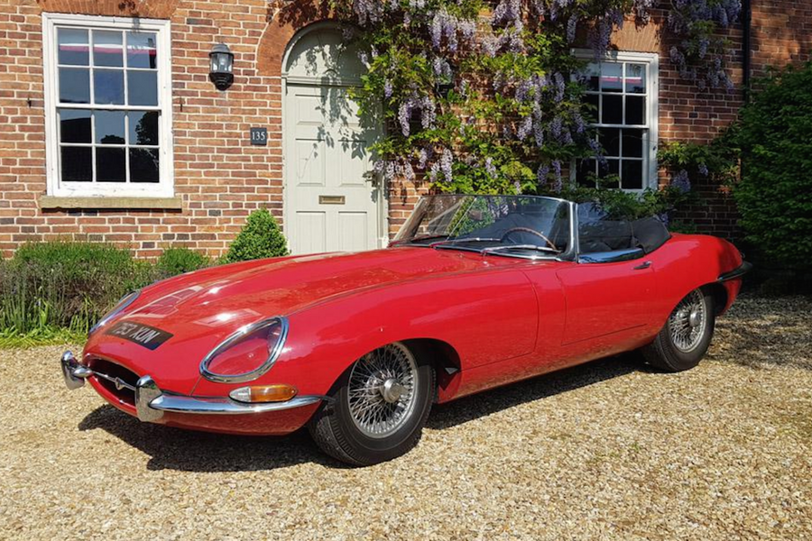 1962 Jaguar E-Type Flat Floor Roadster to cross the block at COYS