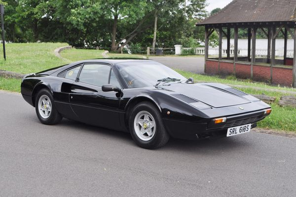 1977 Ferrari 308 gtb Vetroresina on offer at COYS Fontwell House auction