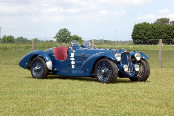 1936 Delahaye Type 135 Speciale Evocation consigned to H&H Duxford