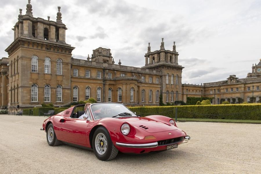 Ferrari wins ten awards at Concours d'Elégance at Salon Privé