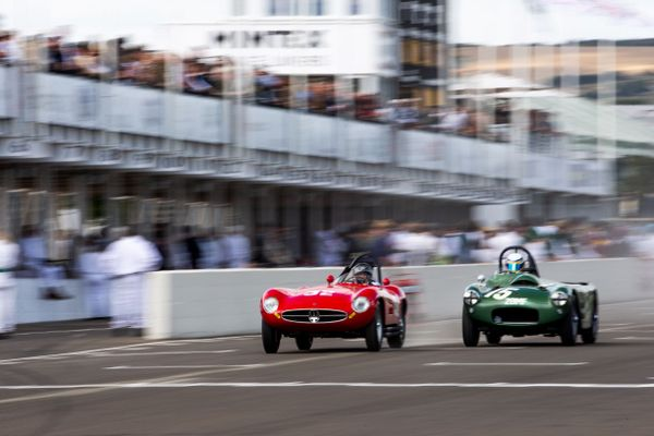 Goodwood Revival, Hunt takes convincing win in Freddie March Memorial Trophy