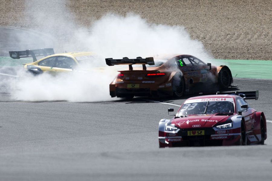 Two poles, two wins: René Rast achieves the perfect DTM weekend