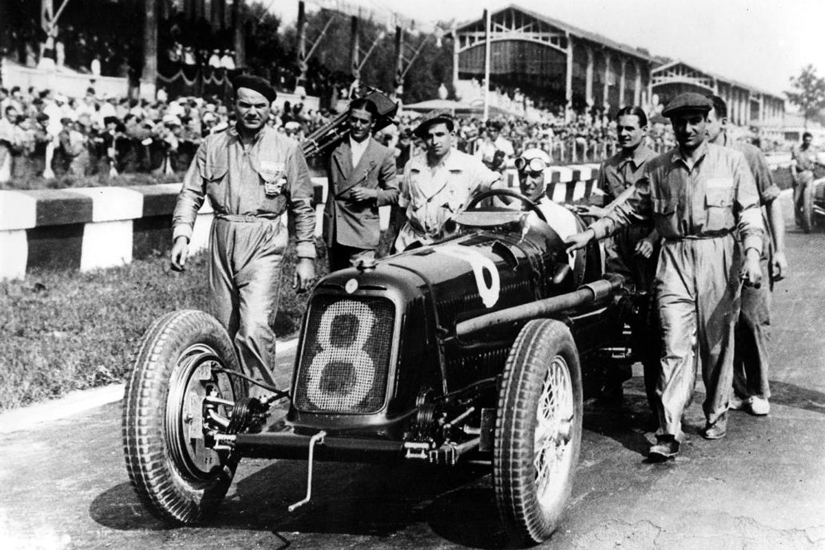 Maserati the main partner of Gran Premio Nuvolari