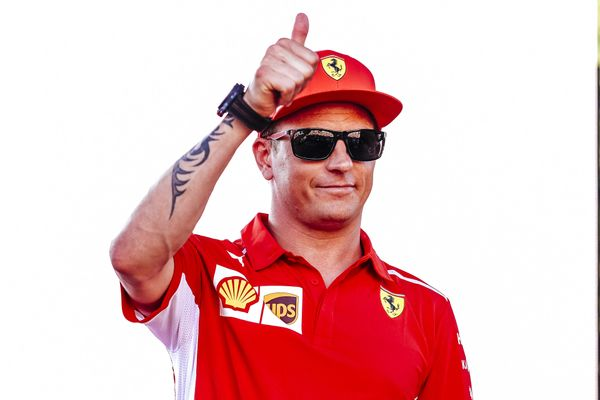 Kimi to wave farewell to Ferrari at the end of the season