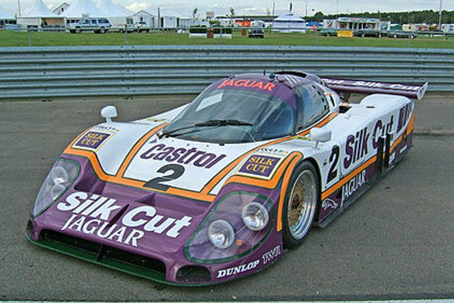 jaguar xjr-11 group c sports protoptype sells for £1,191,000 at