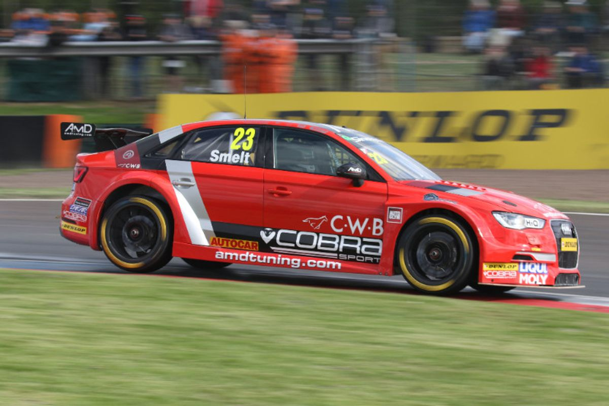 AmD with Cobra Exhausts keen to bounce back at Silverstone BTCC