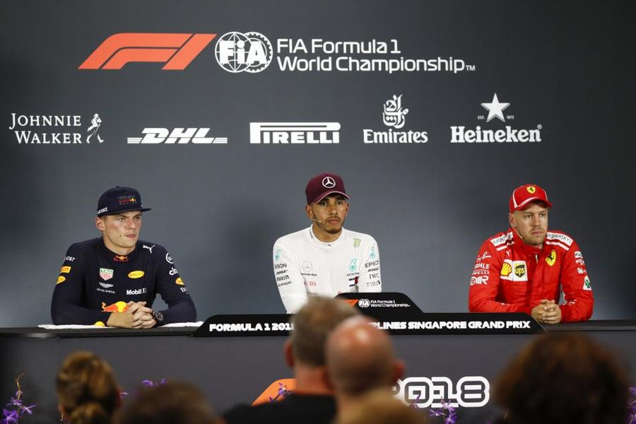Singapore Grand Prix Qualifying Conference