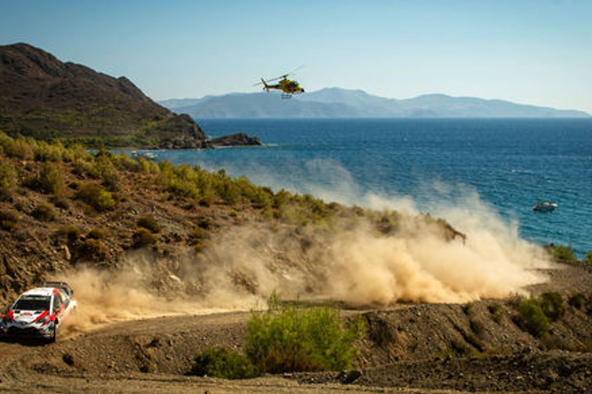 WRC: Tänak steers clear of danger to lead after drama on Rally Turkey