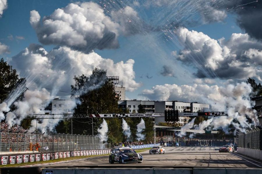 Kristoffersson extends World RX points lead with Latvia RX win