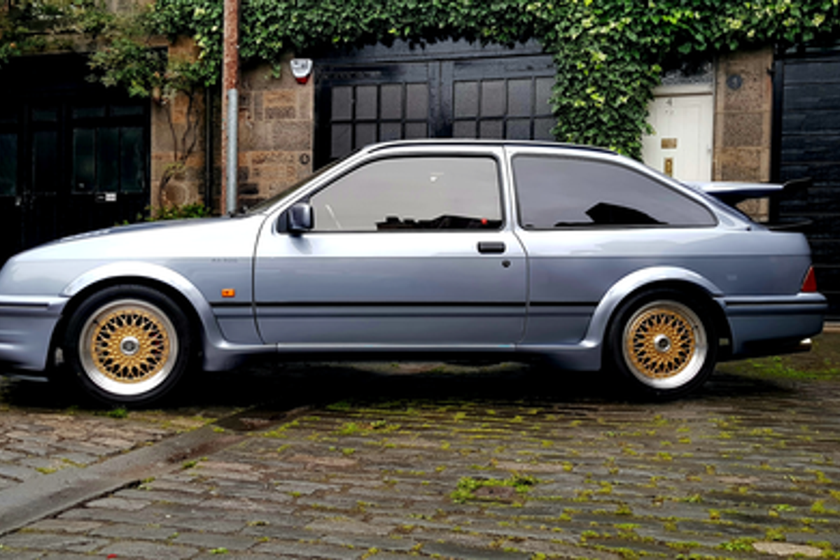 1986 Ford Sierra Cosworth Wolf Prowls Into Silverstone September
