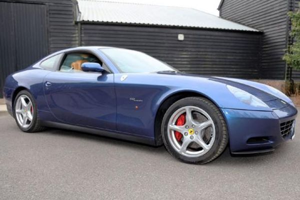 Ex Eric Clapton 2004 Ferrari 612 Scaglietti at H&H Duxford Auction