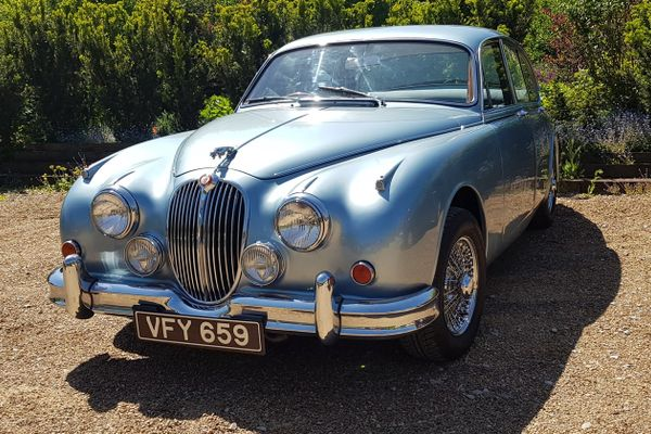 1962  MK 2 Jaguar sells for £50,600 at Barons, results