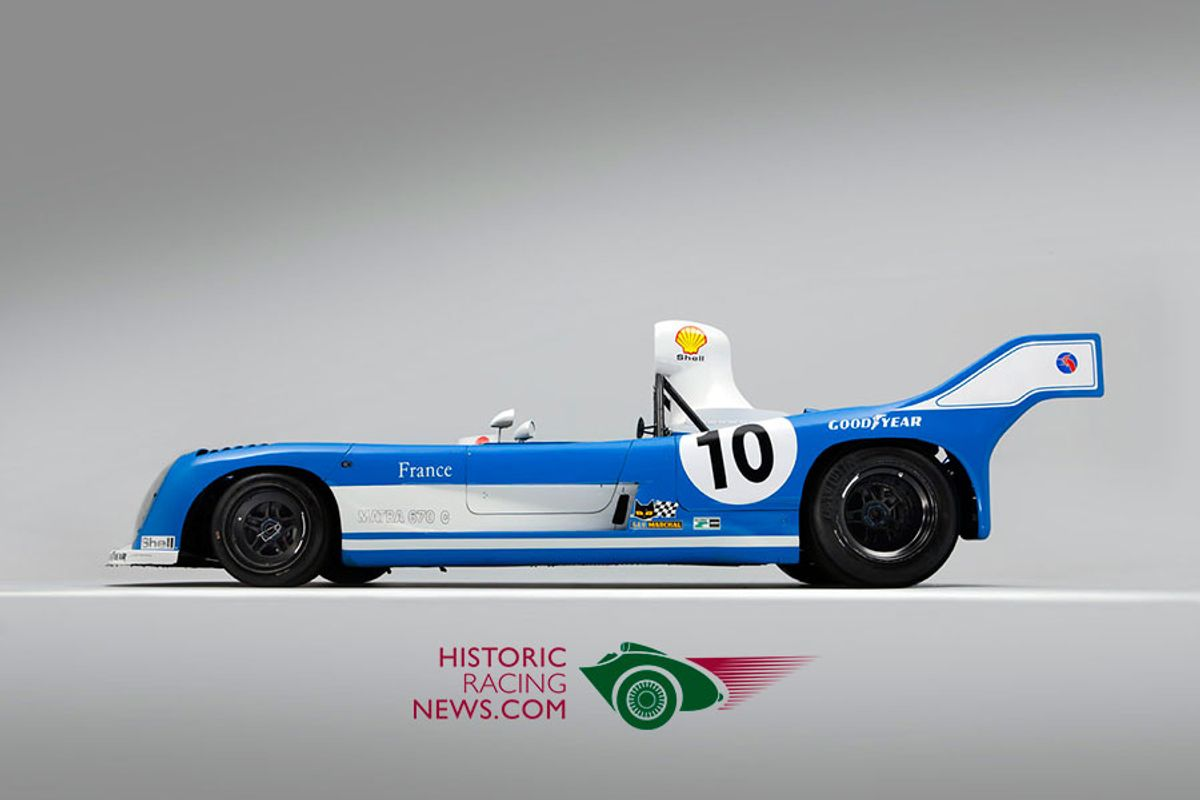 Historic Racing News - new web site by racecar