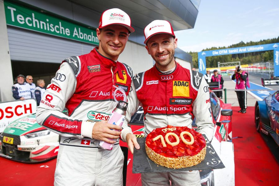 Audi celebrates 100th victory in the DTM