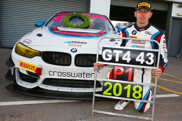 Century's Mitchell seals British GT4 crown