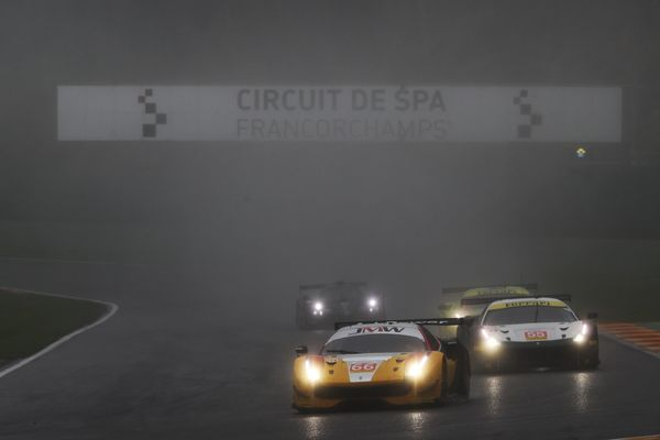 4th Place For JMW Motorsport & MacDowall At Spa In European Le Mans Series Wash-Out