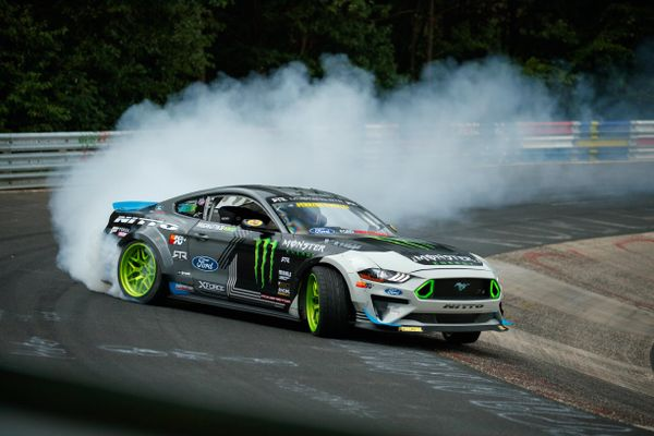 Watch 900 HP Mustang RTR become first car to drift complete Nurburgring circuit