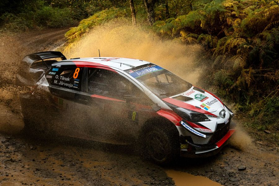 Masterful Tänak takes charge at Rally Great Britain