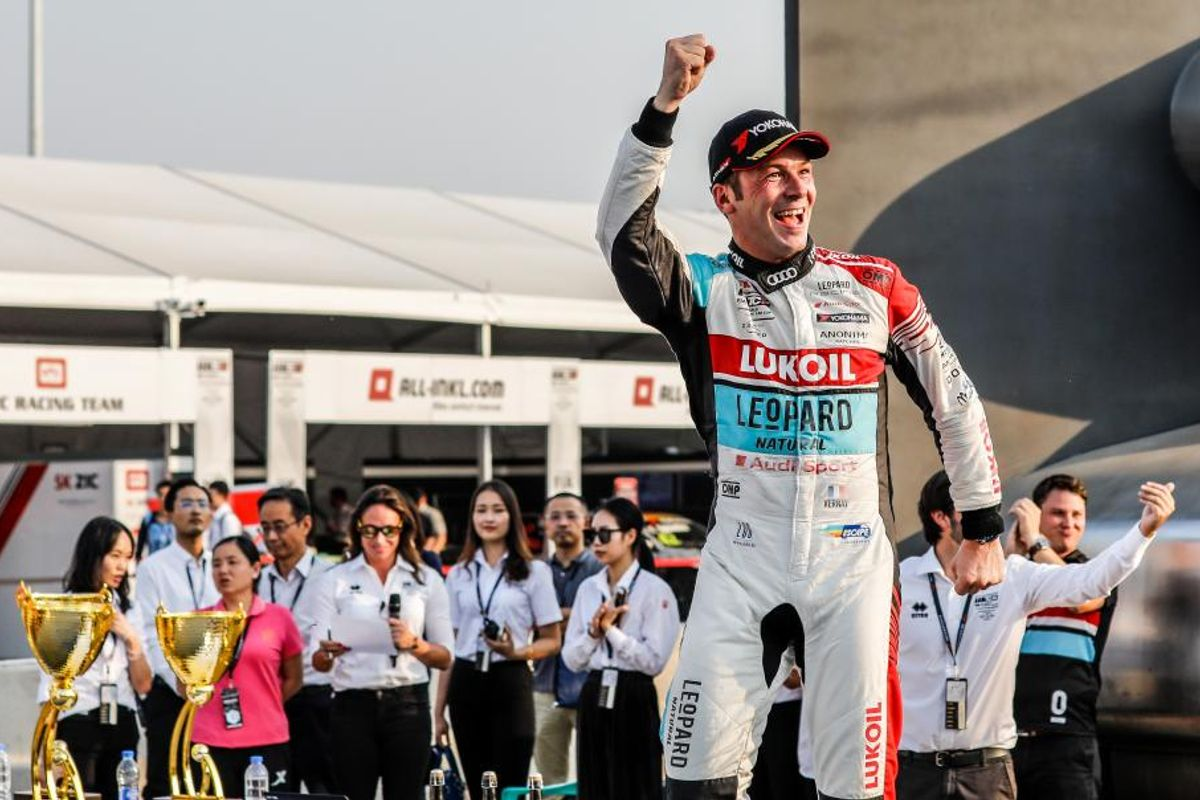 Jean-Karl Vernay converts pole to a win in WTCR Race of China