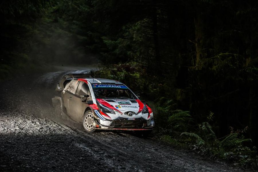 Wales Rally GB: Tänak leads, Ogier into second, Neuville drops time Saturday morning