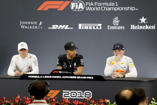 Japanese Grand Prix Winners' Conference