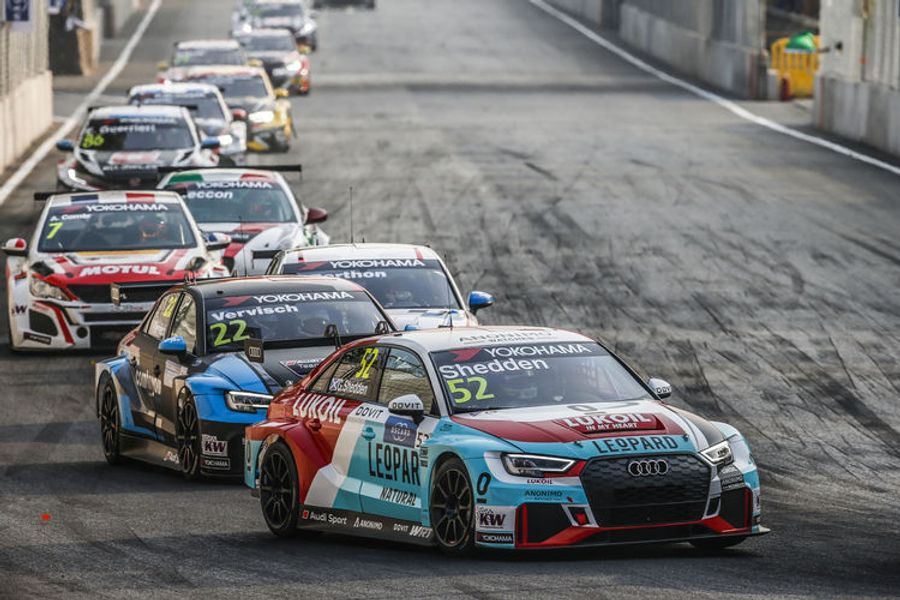 Audi takes one-two-three podium lockout in Wuhan WTCR