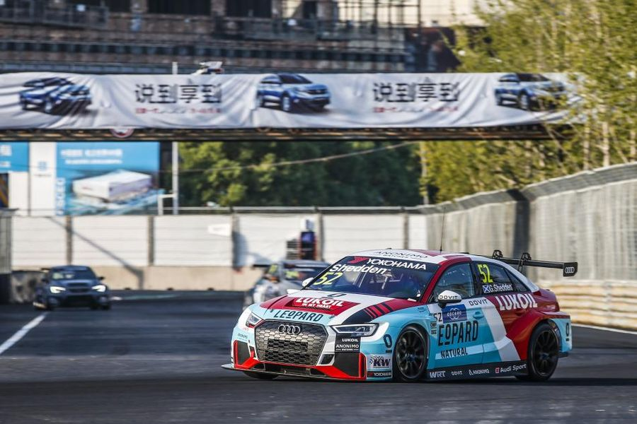 Gordon Shedden beats fellow Audi driver Frédéric Vervisch to win WTCR Race 3 in China