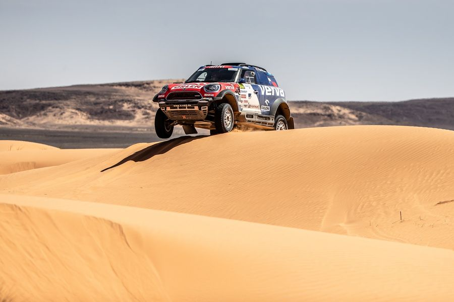 Rallye du Maroc seals FIA Cross Country Rally World Cup for Mini