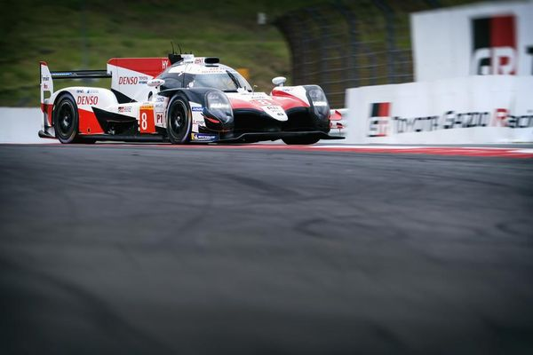 Home WEC pole for Toyota in 6 Hours of Fuji