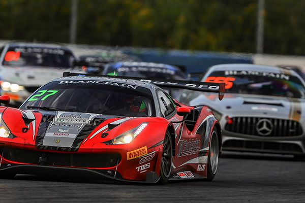 GT3: Foster and Lester's HubAuto Ferrari wins dramatic GT Asia first race at Ningbo