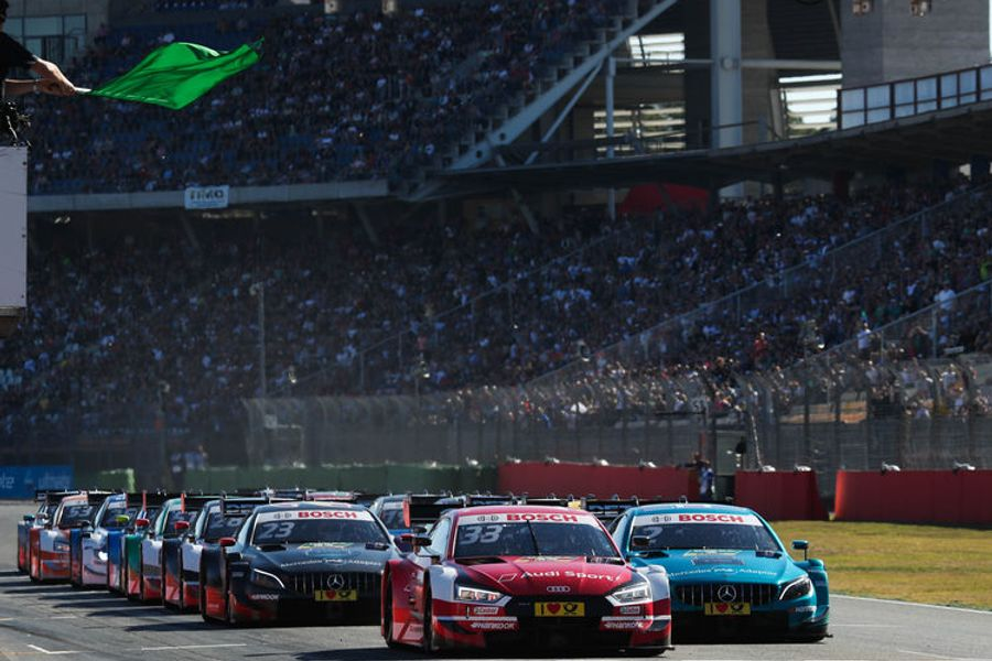 René Rast makes it five in a row five at Hockenheimring DTM