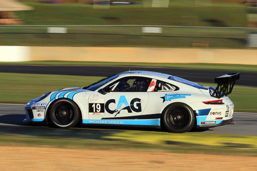 Moorespeed and Zach Robichon Sweep IMSA Porsche GT3 Cup Challenge USA Doubleheader