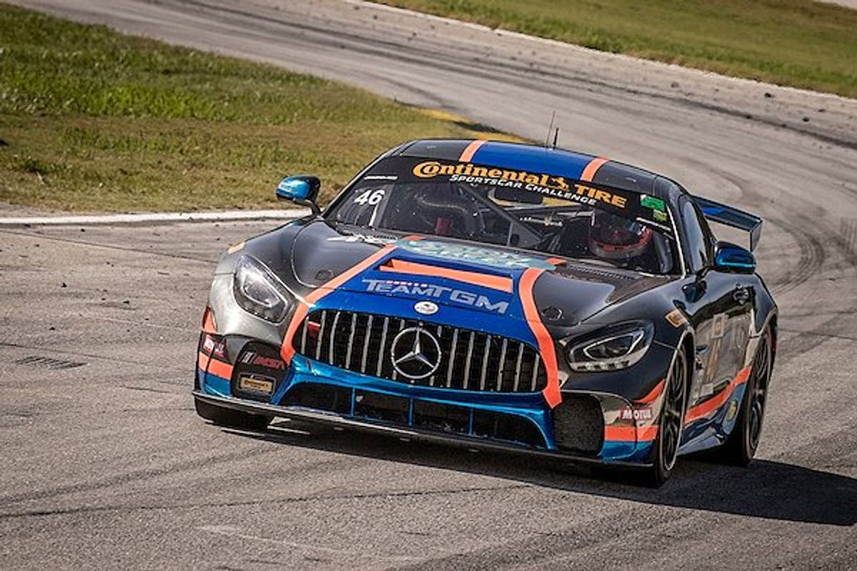 Mercedes-AMG GT4 Wins IMSA Continental Tire SportsCar Challenge Grand Sports Championships