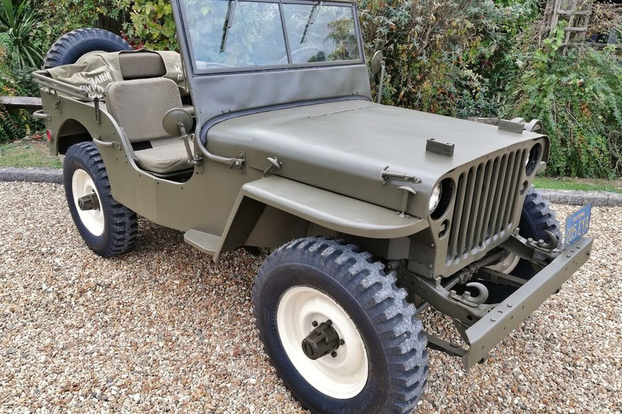 1945 Willys Jeep MB owned by Hollywood star Steve McQueen for sale at auction