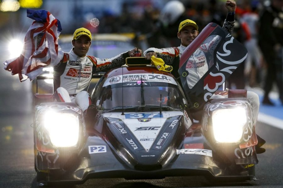 Historic victory for Jackie Chan DC Racing crew under shadow of Mount Fuji