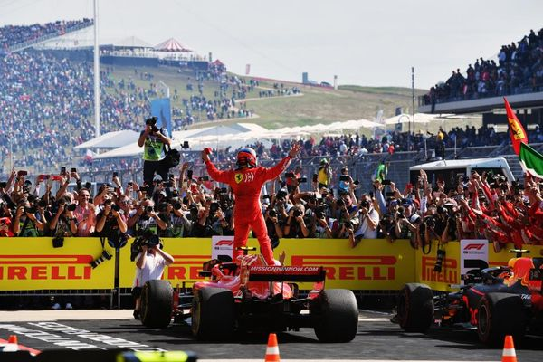 Kimi wins USGP ahead of Hamilton, title fight moves on to Mexico
