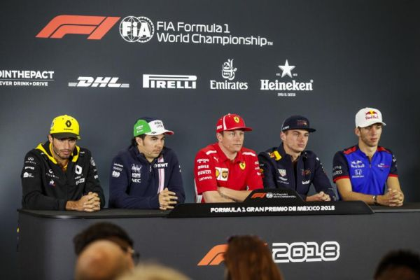 Mexican GP Drivers' Conference