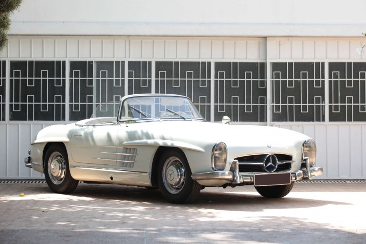 1957 Mercedes-Benz 300 SL roadster at Artcurial Sale