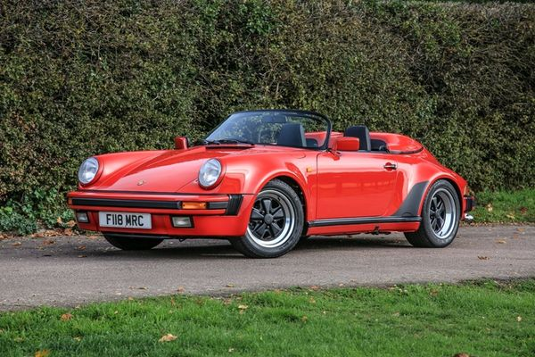 1989 Porsche 911/930 Speedster at Brooklands Sale