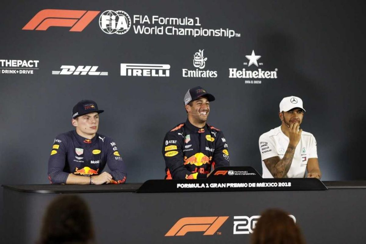 Mexican Grand Prix Qualifying Conference