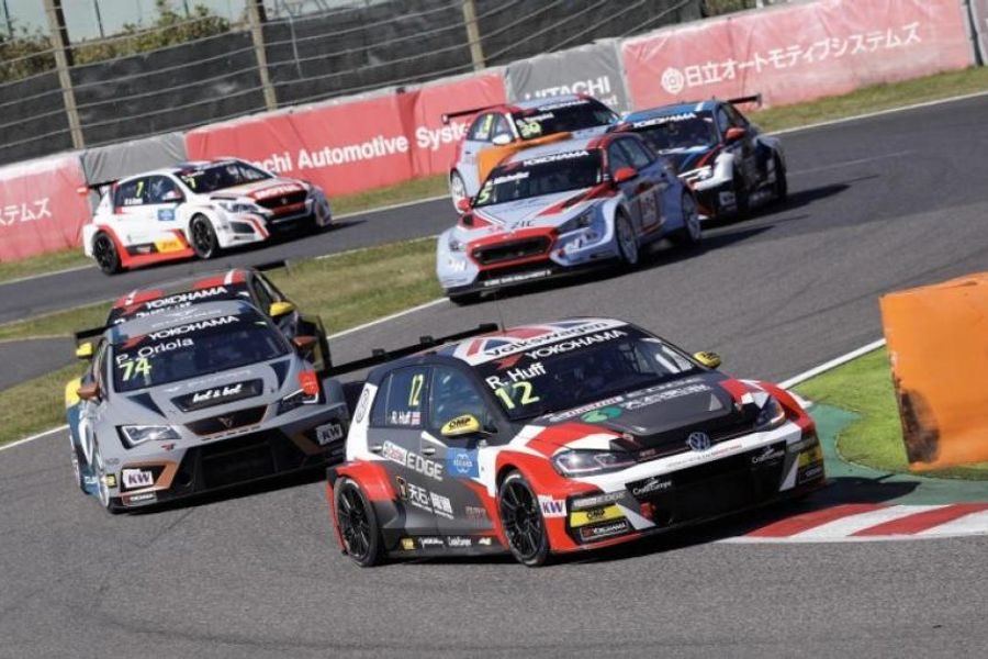 Huff wins WTCR Race of Japan reverse grid thriller