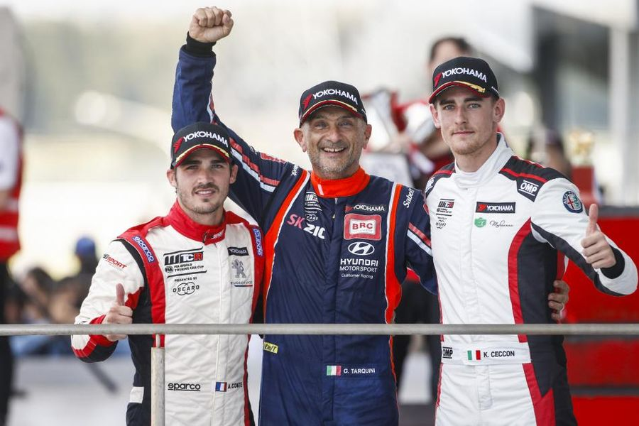 Gabriele Tarquini wins final WTCR Race of Japan