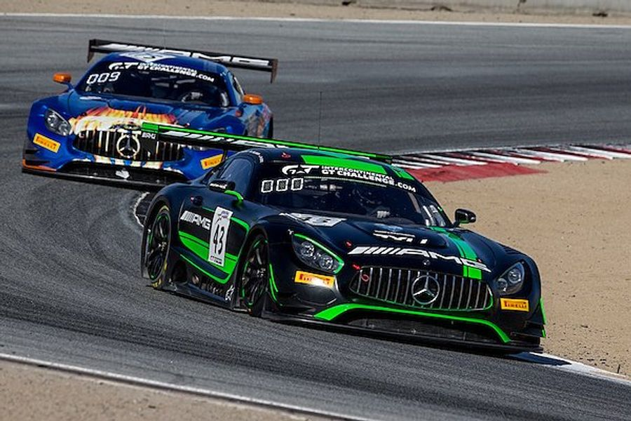 Mercedes-AMG Motorsport GT3 and GT4 Teams Qualify Second at Laguna Seca
