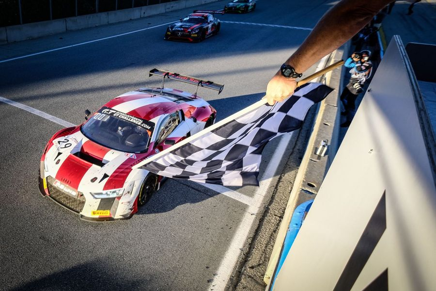 Audi take win and Intercontinental GT Challenge manufacturers' title