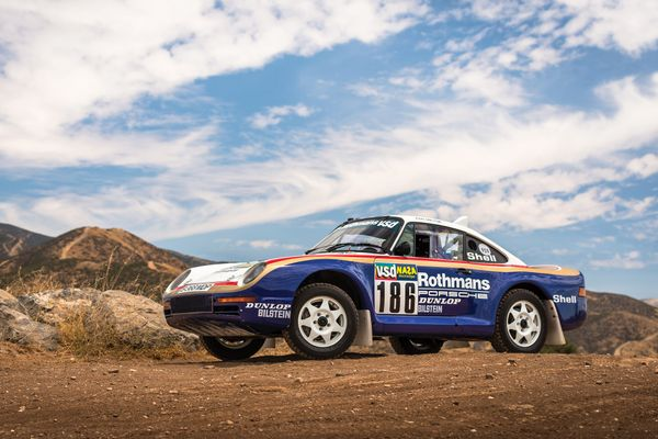 1985 Porsche 959 Paris-Dakar Sells For $5,945,000 at RM Sotheby's: results