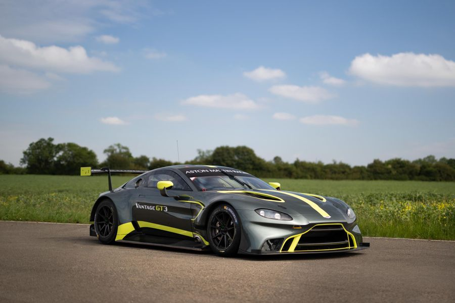 Aston Martin Racing's new Vantage GT3 to race Gulf 12 Hours