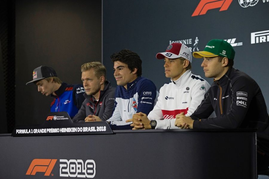 Brazilian GP Drivers' Conference