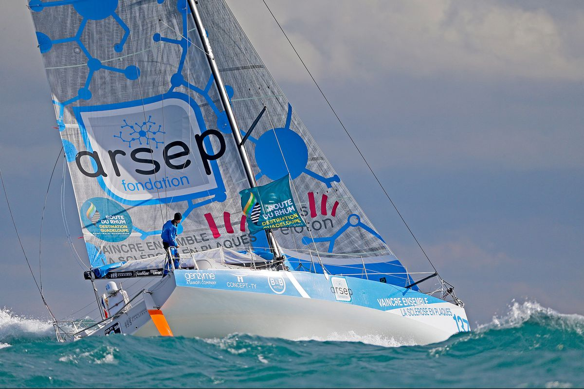 Pit-stops in the Azores as leading Multi50s divert on Route du Rhum