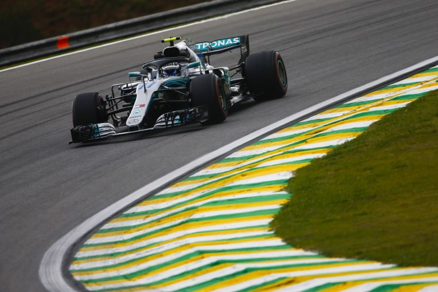 Bottas heads Mercedes 1-2 in Brazilian FP2
