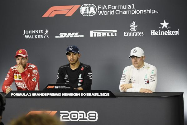 Brazilian Grand Prix Qualifying Conference